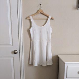 H&M Divided White Skater Dress